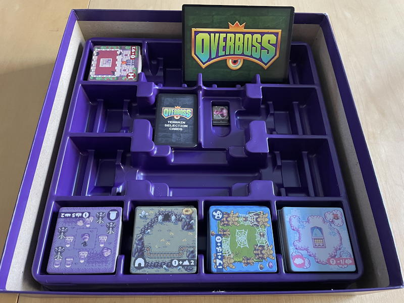 overboss game review - box design storage brotherwise games