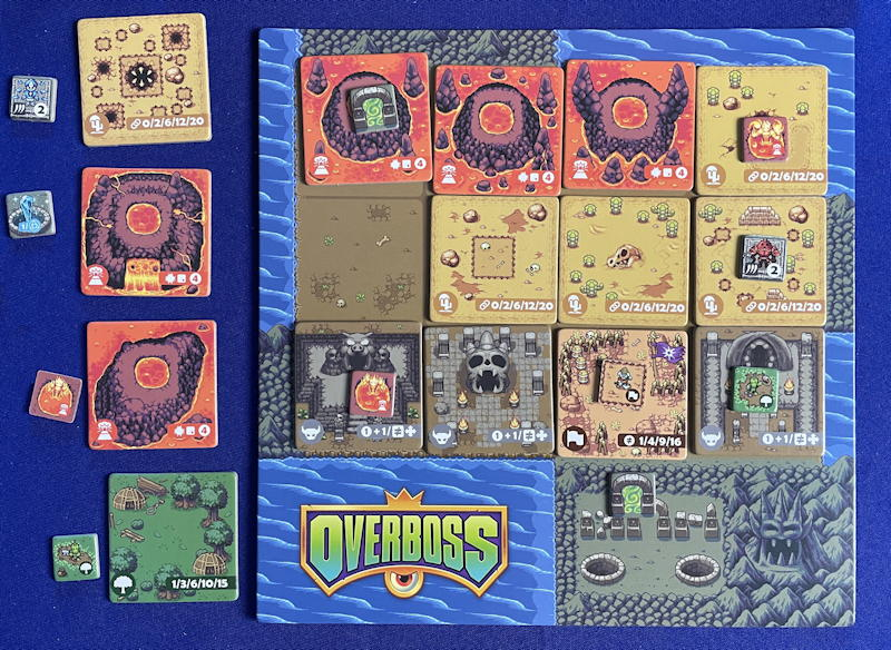 overboss game review - all but one tile