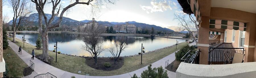 the broadmoor cheyenne lake panorama