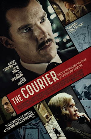 the courier 2021 - movie poster one sheet