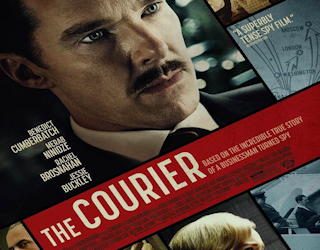the courier 2021 film review movie