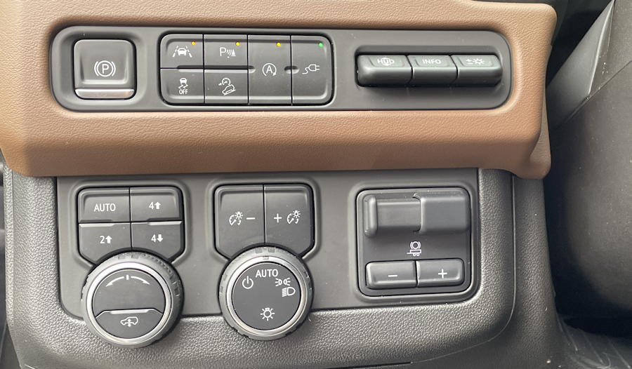 2021 chevy chevrolet suburban - drive controls left of steering wheel dashboard