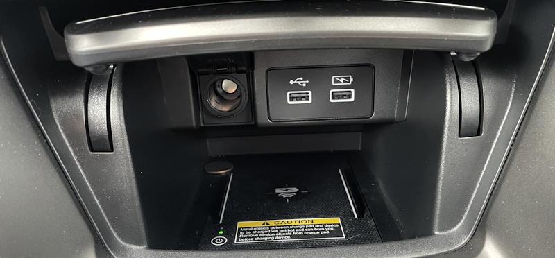 2021 honda accord hybrid trg - center console pocket