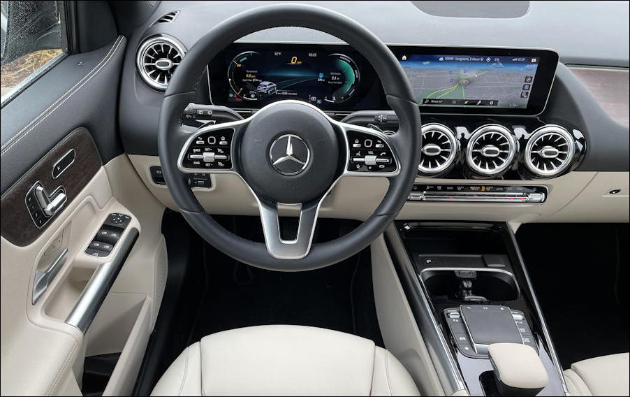 2021 mercedes-benz gla250 suv - interior dash
