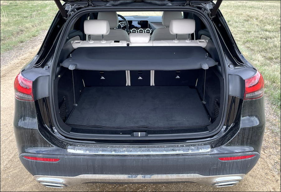 2021 mercedes-benz gla250 - rear cargo