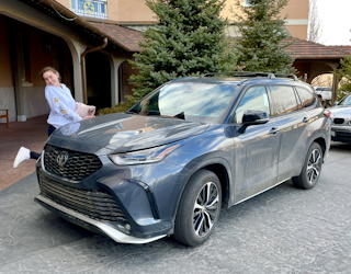 2021 toyota highlander xse awd - drive experience review