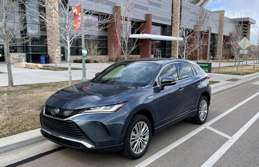 2021 Toyota Venza Limited - front exterior