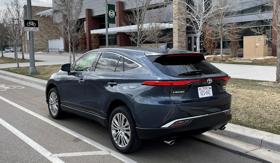 2021 toyota venza limited - rear exterior