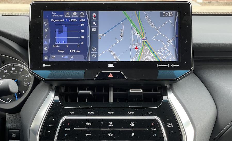 2021 Toyota Venza Limited - nav system