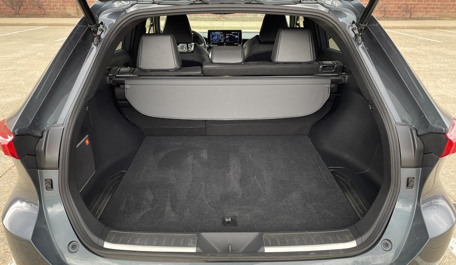 2021 Toyota Venza Limited - rear cargo area