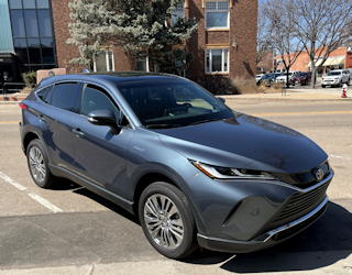 2021 toyota venza limited drive experience review