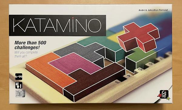 katamino puzzle game - box