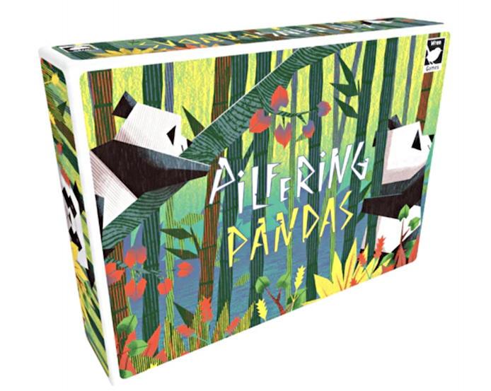 pilfering pandas by wren games - review - box art