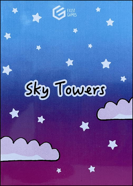 sky towers game review - card backs
