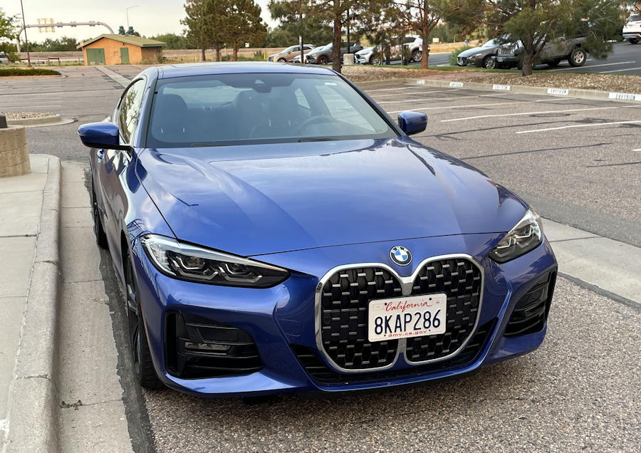 2021 bmw 430i xdrive coupe - front exterior