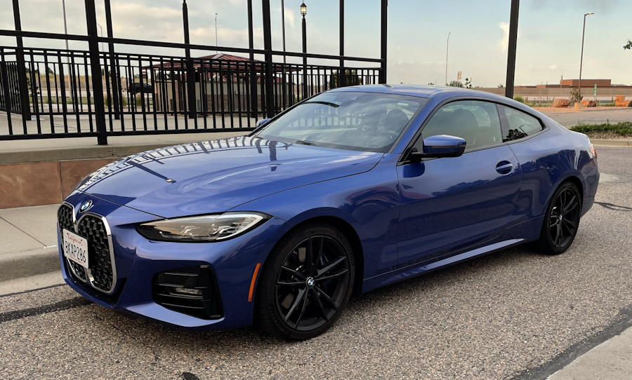 2021 bmw 430i xdrive coupe - exterior driver's side