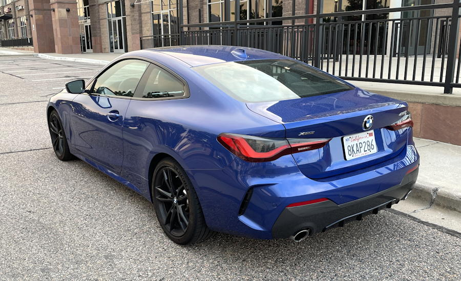 2021 bmw 430i xdrive coupe - rear exterior