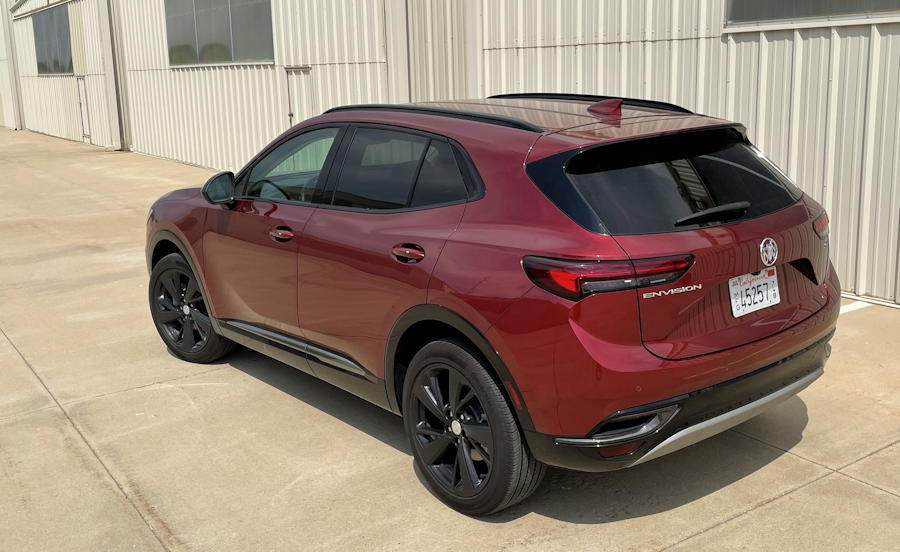 2021 buick envision essence fwd - rear exterior