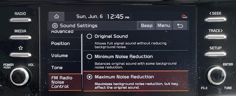 2021 kia sorento hybrid ex - anc active noise cancelling