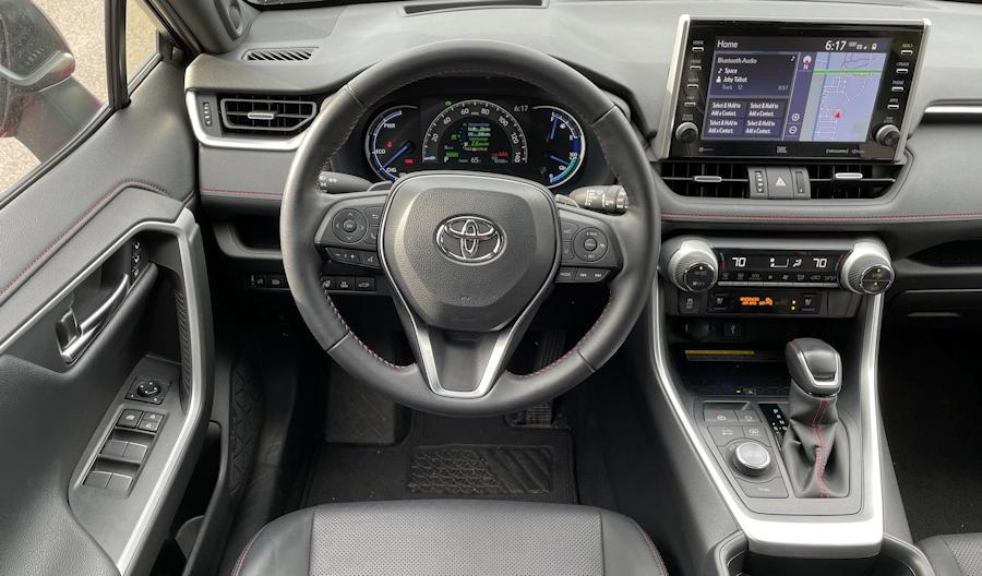 2021 toyota rav-4 prime plug-in hybrid - interior