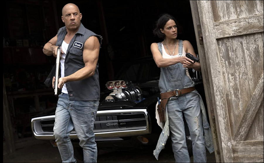 f9 legacy fast furious film movie publicity still photo 2 dom letty rodriguez diesel