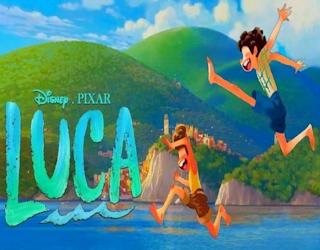 luca 2021 pixar film movie animation review