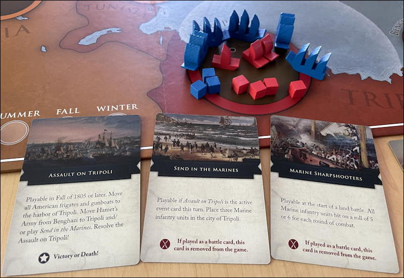 the shores of tripoli game - assault on tripoli