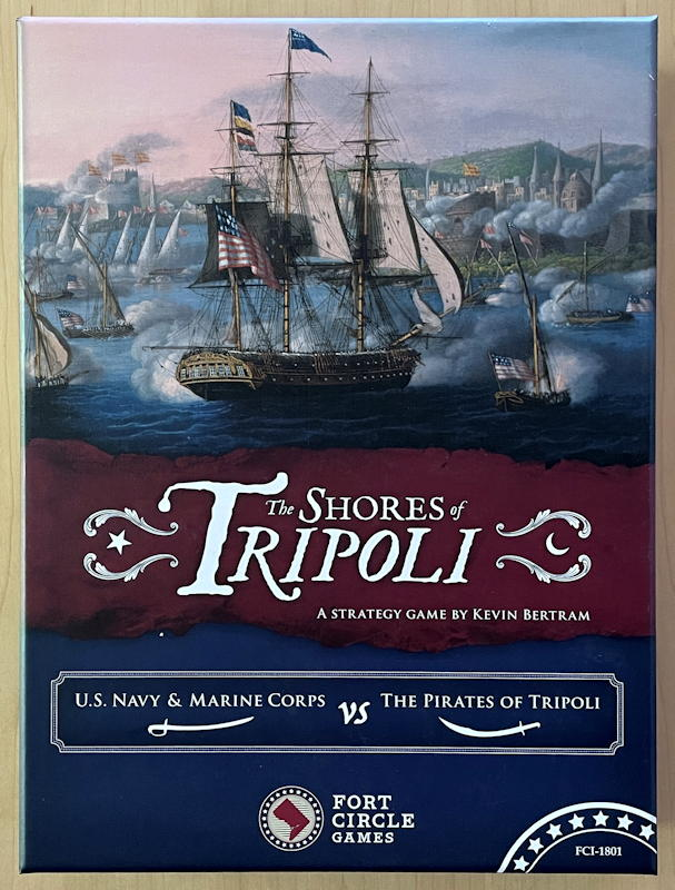the shores of tripoli game box