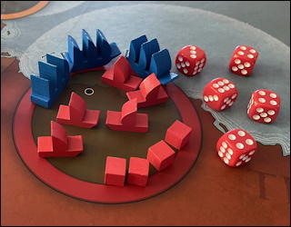 the shores of tripoli game wargame from fort circle games - review playthru
