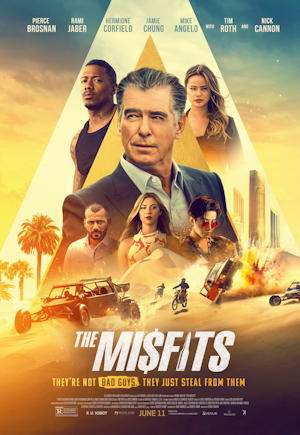 the misfits 2021 - movie poster one sheet