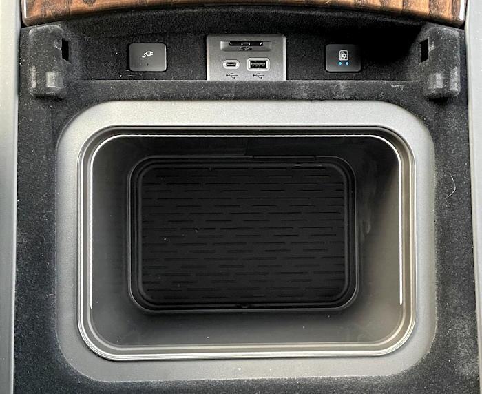 2021 cadillac escalade 4wd sport platinum - fridge cooler storage box