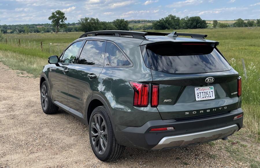 2021 kia sorento x-line awd - exterior rear