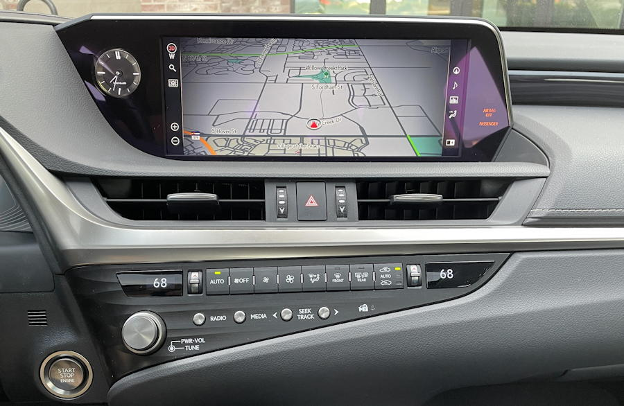 2021 lexus es awd - multimedia entertainment system mark levinson