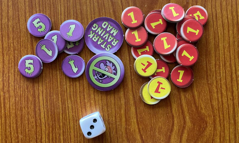 chez cthulhu game review - slack madness tokens