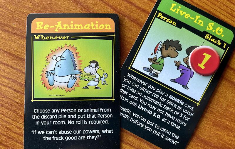 chez cthulhu card game - reanimation