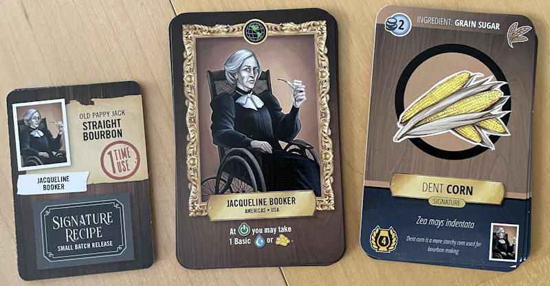 distilled board game review - individual character