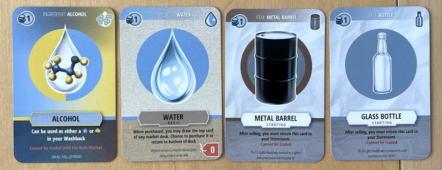 distilled board game review - made moonshine
