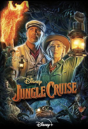 jungle cruise 2021 - film poster one sheet