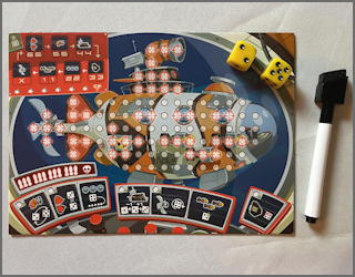 torpedo dice board game r&w pnp from status games - review solo
