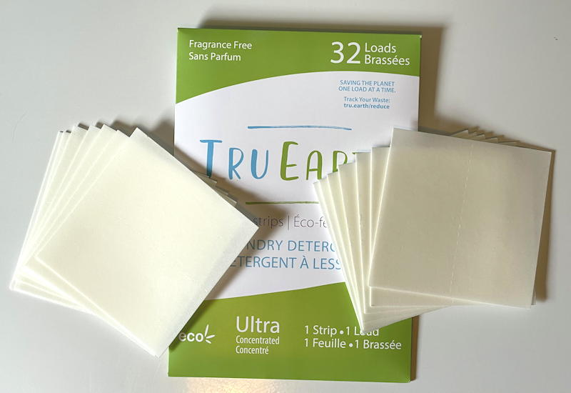 tru earth laundry strips sheets