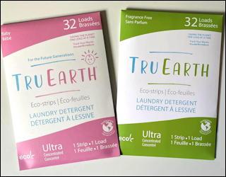 tru earth eco laundry detergent strips earth friendly