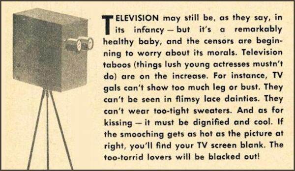 tv infancy morals warning retro