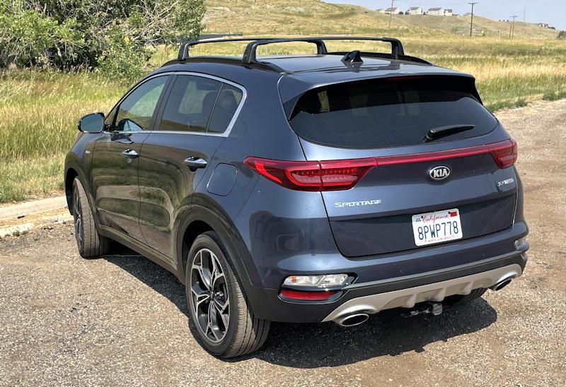 2020 Kia Sportage SX AWD - exterior rear