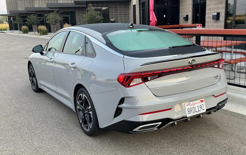 2021 kia k5 gt-line awd - exterior rear