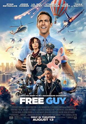 free guy 2021 film movie poster one sheet