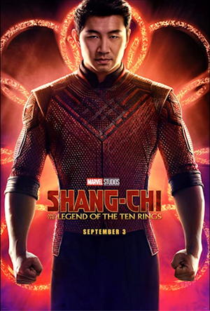 shang-chi and the legend of the ten rings movie poster one sheet
