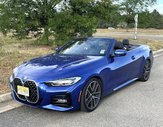 2021 bmw 430i convertible - review road test