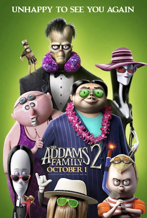the addams family 2 movie film - one sheet poster - review