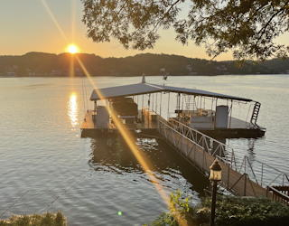 late summer holiday, lake of the ozarks with kids