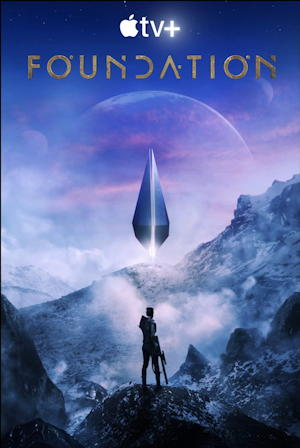 foundation series appletv - movie poster one sheet